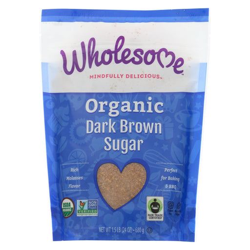 Wholesome Sweeteners Sugar - Organic - Dark Brown - 24 Oz - Case Of 6-buy Wholesome Sweeteners Sugar - Organic - Dark Brown - 24 Oz - Case Of 6-Wholesome Sweeteners Sugar - Organic - Dark Brown - 24 Oz - Case Of 6 near me-Wholesome Sweeteners Sugar - Organic - Dark Brown - 24 Oz - Case Of 6 walmart-best place to buy Wholesome Sweeteners Sugar - Organic - Dark Brown - 24 Oz - Case Of 6-grocery delivery-subscription boxes-grocery delivery near me-grocery delivery service-vegan grocery store online
