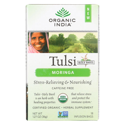 Organic India Tulsi Tea - Organic - Moringa - 18 Tea Bags - 1 Case-buy Organic India Tulsi Tea - Organic - Moringa - 18 Tea Bags - 1 Case-Organic India Tulsi Tea - Organic - Moringa - 18 Tea Bags - 1 Case near me-Organic India Tulsi Tea - Organic - Moringa - 18 Tea Bags - 1 Case walmart-best place to buy Organic India Tulsi Tea - Organic - Moringa - 18 Tea Bags - 1 Case-grocery delivery-subscription boxes-grocery delivery near me-grocery delivery service-vegan grocery store online