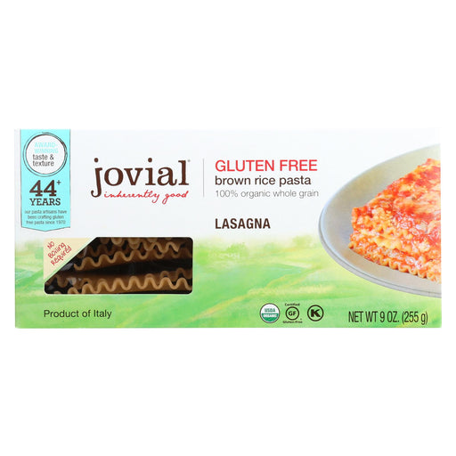 Jovial - Pasta - Organic - Brown Rice - Lasagna - 9 Oz - Case Of 12-buy Jovial - Pasta - Organic - Brown Rice - Lasagna - 9 Oz - Case Of 12-Jovial - Pasta - Organic - Brown Rice - Lasagna - 9 Oz - Case Of 12 near me-Jovial - Pasta - Organic - Brown Rice - Lasagna - 9 Oz - Case Of 12 walmart-best place to buy Jovial - Pasta - Organic - Brown Rice - Lasagna - 9 Oz - Case Of 12-grocery delivery-subscription boxes-grocery delivery near me-organic grocery delivery-organic grocery online
