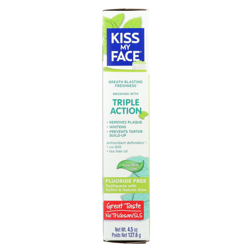 Kiss My Face Toothpaste - Triple Action - Fluoride Free - Gel - 4.5 Oz-buy Kiss My Face Toothpaste - Triple Action - Fluoride Free - Gel - 4.5 Oz-Kiss My Face Toothpaste - Triple Action - Fluoride Free - Gel - 4.5 Oz near me-Kiss My Face Toothpaste - Triple Action - Fluoride Free - Gel - 4.5 Oz walmart-best place to buy Kiss My Face Toothpaste - Triple Action - Fluoride Free - Gel - 4.5 Oz-grocery delivery-subscription boxes-grocery delivery near me-grocery delivery service-best subscription boxes