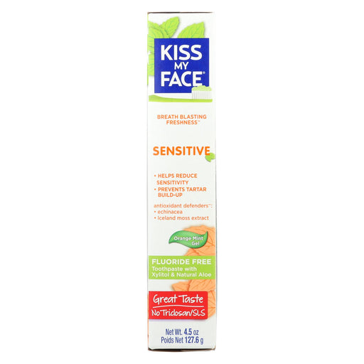 Kiss My Face Toothpaste - Sensitive - Fluoride Free - Gel - 4.5 Oz-buy Kiss My Face Toothpaste - Sensitive - Fluoride Free - Gel - 4.5 Oz-Kiss My Face Toothpaste - Sensitive - Fluoride Free - Gel - 4.5 Oz near me-Kiss My Face Toothpaste - Sensitive - Fluoride Free - Gel - 4.5 Oz walmart-best place to buy Kiss My Face Toothpaste - Sensitive - Fluoride Free - Gel - 4.5 Oz-grocery delivery-subscription boxes-grocery delivery near me-grocery delivery service-best subscription boxes