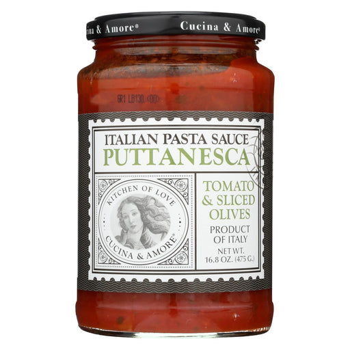 Cucina And Amore - Pasta Sauce - Puttanesca - Case Of 6 - 16.8 Oz.-buy Cucina And Amore - Pasta Sauce - Puttanesca - Case Of 6 - 16.8 Oz.-Cucina And Amore - Pasta Sauce - Puttanesca - Case Of 6 - 16.8 Oz. near me-Cucina And Amore - Pasta Sauce - Puttanesca - Case Of 6 - 16.8 Oz. walmart-best place to buy Cucina And Amore - Pasta Sauce - Puttanesca - Case Of 6 - 16.8 Oz.-grocery delivery-subscription boxes-grocery delivery near me-grocery delivery service-best subscription boxes