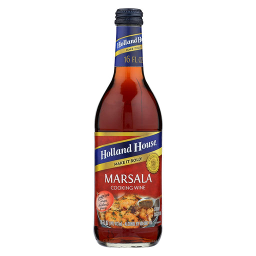 Holland House Holland House Marsala Cooking Wine - Marsala - Case Of 12 - 16 Fl Oz.