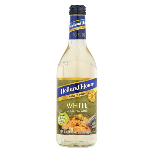Holland House Holland House White Cooking Wine - White - Case Of 12 - 16 Fl Oz.
