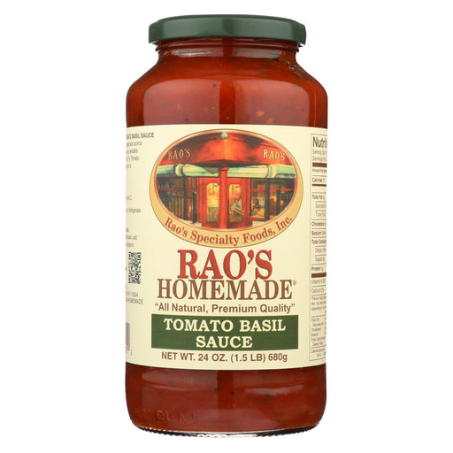Rao's Specialty Food Homemade Sauce - Tomato Basil - Case Of 12 - 24 Oz.-buy Rao's Specialty Food Homemade Sauce - Tomato Basil - Case Of 12 - 24 Oz.-Rao's Specialty Food Homemade Sauce - Tomato Basil - Case Of 12 - 24 Oz. near me-Rao's Specialty Food Homemade Sauce - Tomato Basil - Case Of 12 - 24 Oz. walmart-best place to buy Rao's Specialty Food Homemade Sauce - Tomato Basil - Case Of 12 - 24 Oz.-grocery delivery-subscription boxes-grocery delivery near me-grocery delivery service-best subscription boxes