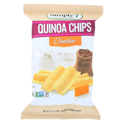 Simply 7 Quinoa Chips - Cheddar - Case Of 12 - 3.5 Oz.-buy Simply 7 Quinoa Chips - Cheddar - Case Of 12 - 3.5 Oz.-Simply 7 Quinoa Chips - Cheddar - Case Of 12 - 3.5 Oz. near me-Simply 7 Quinoa Chips - Cheddar - Case Of 12 - 3.5 Oz. walmart-best place to buy Simply 7 Quinoa Chips - Cheddar - Case Of 12 - 3.5 Oz.-grocery delivery-subscription boxes-grocery delivery near me-grocery delivery service-best subscription boxes