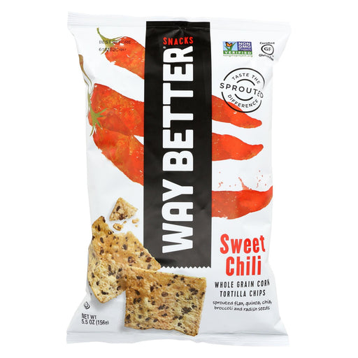 Way Better Snacks Tortilla Chips - Sweet Chili - Case Of 12 - 5.5 Oz.-buy Way Better Snacks Tortilla Chips - Sweet Chili - Case Of 12 - 5.5 Oz.-Way Better Snacks Tortilla Chips - Sweet Chili - Case Of 12 - 5.5 Oz. near me-Way Better Snacks Tortilla Chips - Sweet Chili - Case Of 12 - 5.5 Oz. walmart-best place to buy Way Better Snacks Tortilla Chips - Sweet Chili - Case Of 12 - 5.5 Oz.-grocery delivery-subscription boxes-grocery delivery near me-grocery delivery service-vegan grocery store online