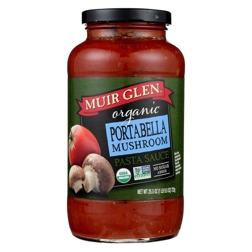 Muir Glen Portabello Mushroom Pasta Sauce - Tomato - Case Of 12 - 25.5 Fl Oz.