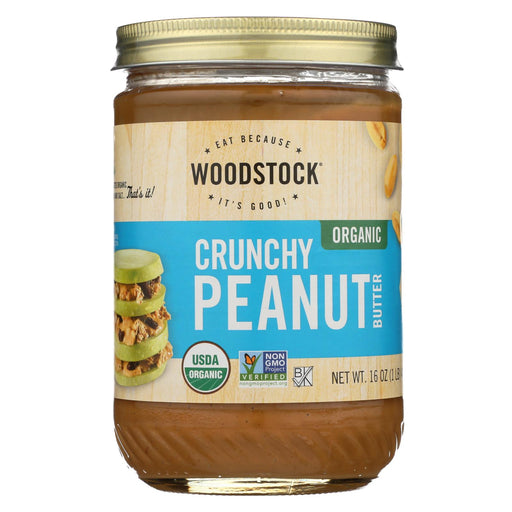 Woodstock Organic Peanut Butter - Crunchy - Case Of 12 - 16 Oz.-buy Woodstock Organic Peanut Butter - Crunchy - Case Of 12 - 16 Oz.-Woodstock Organic Peanut Butter - Crunchy - Case Of 12 - 16 Oz. near me-Woodstock Organic Peanut Butter - Crunchy - Case Of 12 - 16 Oz. walmart-best place to buy Woodstock Organic Peanut Butter - Crunchy - Case Of 12 - 16 Oz.-grocery delivery-subscription boxes-grocery delivery near me-organic grocery delivery-organic grocery online