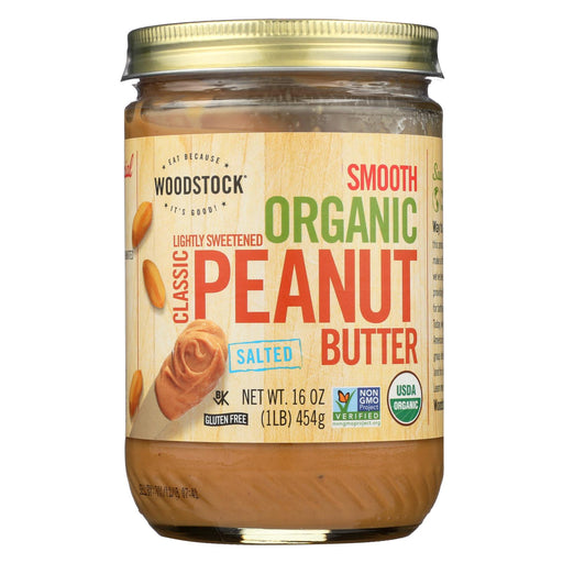 Woodstock Organic Classic Peanut Butter - Smooth - Case Of 12 - 16 Oz-buy Woodstock Organic Classic Peanut Butter - Smooth - Case Of 12 - 16 Oz-Woodstock Organic Classic Peanut Butter - Smooth - Case Of 12 - 16 Oz near me-Woodstock Organic Classic Peanut Butter - Smooth - Case Of 12 - 16 Oz walmart-best place to buy Woodstock Organic Classic Peanut Butter - Smooth - Case Of 12 - 16 Oz-grocery delivery-subscription boxes-grocery delivery near me-organic grocery delivery-organic grocery online