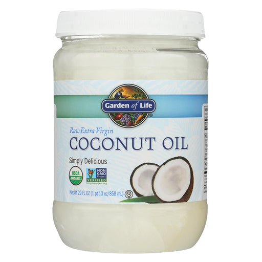 Garden Of Life Oil Coconut - Organic - Raw Extra Virgin - Case Of 4 - 29 Fl Oz