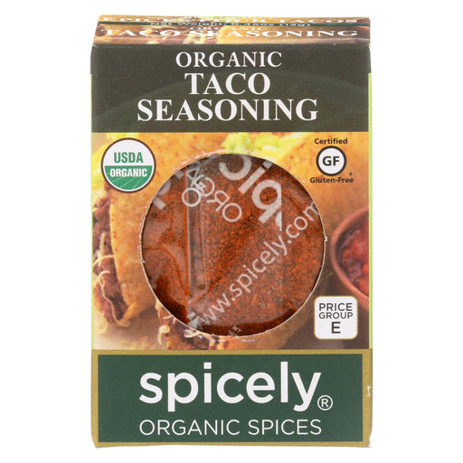 Spicely Organics - Organic Taco Seasoning - Case Of 6 - 0.45 Oz.-buy Spicely Organics - Organic Taco Seasoning - Case Of 6 - 0.45 Oz.-Spicely Organics - Organic Taco Seasoning - Case Of 6 - 0.45 Oz. near me-Spicely Organics - Organic Taco Seasoning - Case Of 6 - 0.45 Oz. walmart-best place to buy Spicely Organics - Organic Taco Seasoning - Case Of 6 - 0.45 Oz.-grocery delivery-subscription boxes-grocery delivery near me-grocery delivery service-vegan grocery store online