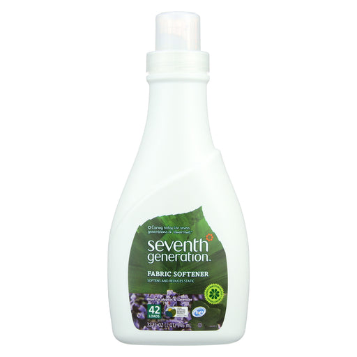 Seventh Generation Natural Liquid Fabric Softener - Blue Eucalyptus And Lavender - Case Of 6 - 32 Fl Oz.