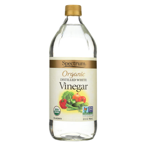 Spectrum Naturals Organic Distilled White Vinegar - Case Of 12 - 32 Fl Oz.
