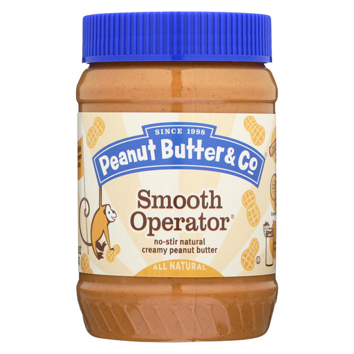 Peanut Butter And Co Peanut Butter - Smooth Operator - Case Of 6 - 16 Oz.