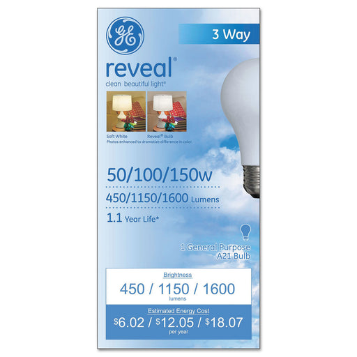 GE Three-way Incandescent Globe Bulb, 50-100-150 Watts-buy GE Three-way Incandescent Globe Bulb, 50-100-150 Watts-GE Three-way Incandescent Globe Bulb, 50-100-150 Watts near me-GE Three-way Incandescent Globe Bulb, 50-100-150 Watts walmart-best place to buy GE Three-way Incandescent Globe Bulb, 50-100-150 Watts-grocery delivery-subscription boxes-grocery delivery near me-grocery delivery service-best subscription boxes