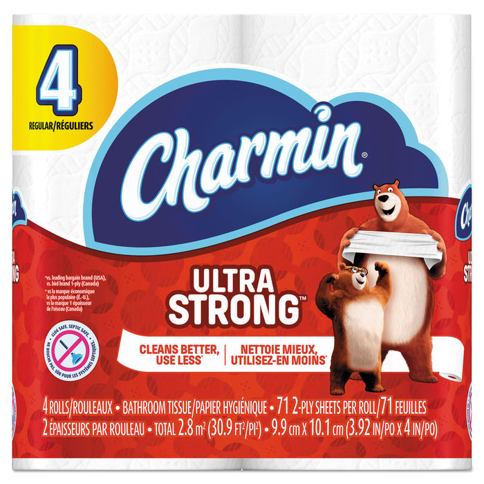 Charmin Ultra Strong Bathroom Tissue, 2-ply, 4 X 3.92, 71 Sheets-roll, 4 Rolls-pack