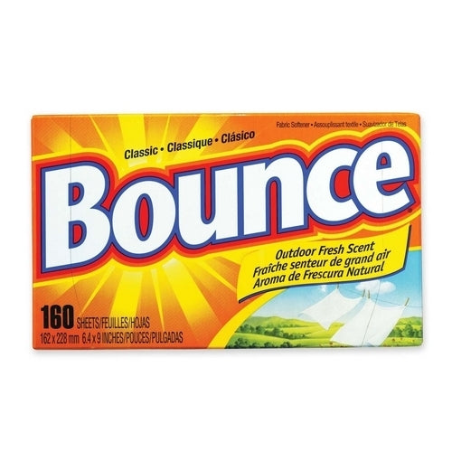 Procter & Gamble Commercial Bounce Dryer Sheets, Reduces Static, 160 Sheets-bx Case Pack 2