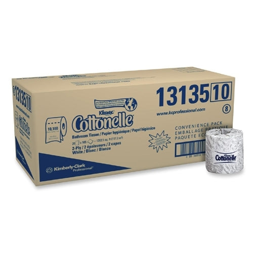 "Kimberly-clark Bathroom Tissue,2-ply,4""""x4-1-2"""",505 Sheets-roll,20-ct,white Case Pack 20"