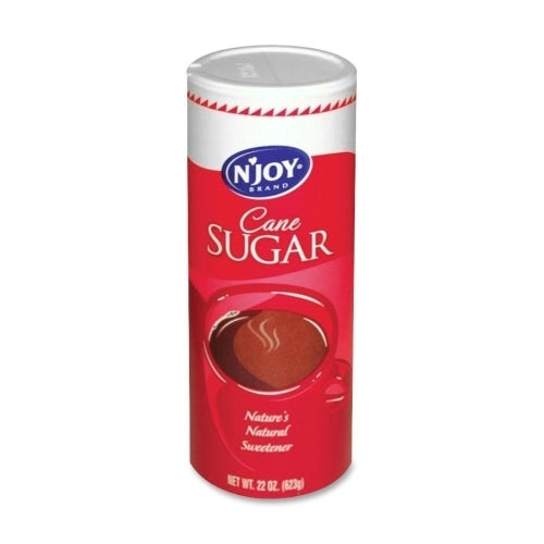 Sugar Foods Corp Pure Cane Sugar In Canister, 20 Oz Canister, 1-pk Case Pack 10