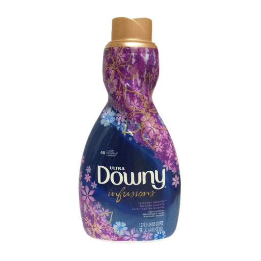 Ultra Downy Infusions Fabric Softener, Lavender Serenity, H.e. Compatible, 48 Loads, 41 Fl. Oz.