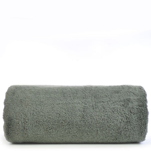 Luxury Hotel & Spa Towel 100% Genuine Turkish Cotton Oversized Bath Sheet - Gray - Pelican Hill  - Set Of 1