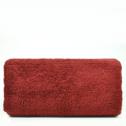 Luxury Hotel & Spa Towel 100% Genuine Turkish Cotton Oversized Bath Sheet - Cranberry - Pelican Hill - Set Of 1