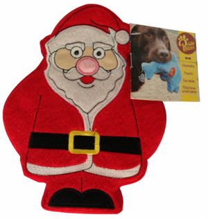 PrideBites Santa Holiday Dog Toy