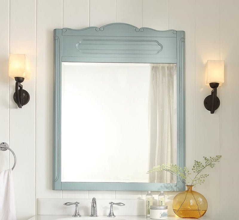 Blue Knoxville Mirror
