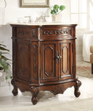 "27""  Petite Powder Room Spencer Bathroom Sink Vanity  HF-3305W-TK-27 - Chans Furniture - 1"