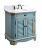 "32"" Benton Collection Cottage style Abbeville Bathroom Sink Vanity CF-47884BU"