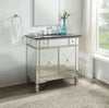 "36"" ACME Atrian Contemporary Mirrored Bathroom Sink Vanity 90345"