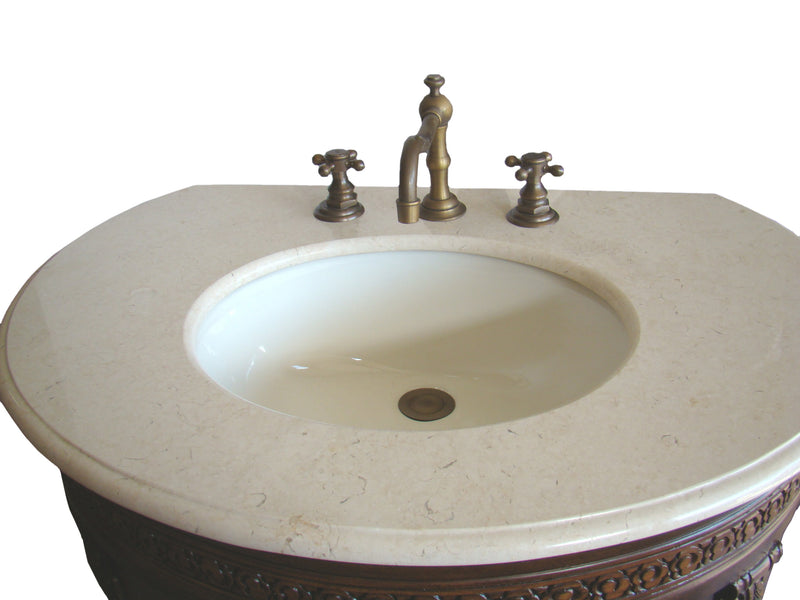 "32"" Attractive Classic Versailles Bathroom Sink Vanity - CF-2869M-TK"