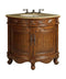 "24"" Classic Style Bayview Corner Bathroom Sink Vanity   Model # BC-030M - Chans Furniture"