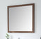 Colle American Walnut 34-inch Wall Mirror MIR-409NT-36