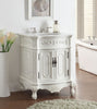 "27"" Antique white Spencer Bathroom Sink Vanity - CF-3305W-AW-27 - Chans Furniture - 2"