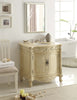 "32"" Traditional style cream marble Fiesta Bathroom Sink Vanity CF-2873M-LT - Chans Furniture - 2"