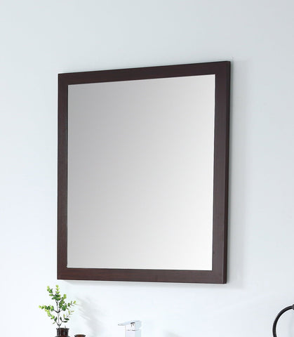 Adagio Espresso/Wenge 28-inch Wall Mirror MIR-409WE30