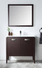 "36"" Tennant Brand Adagio Wenge Finish Bathroom Sink Vanity - CL-409WE36-ZI"
