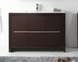 "48"" Tennant Brand VIARA Modern Style Vanity - Bathroom Sink Vanity in Espresso Finish   -  CL10-WE40-ZI"