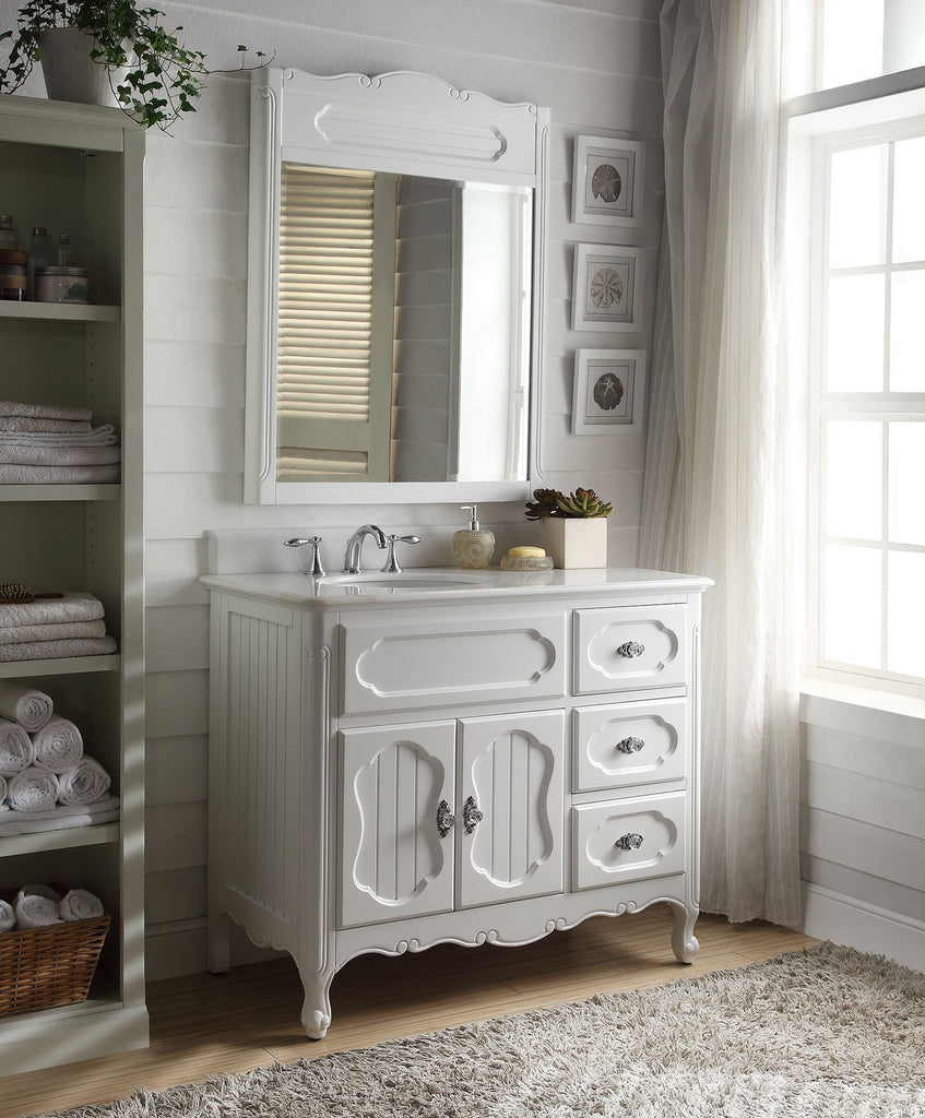42 Victorian Cottage Style Knoxville Bathroom Sink Vanity
