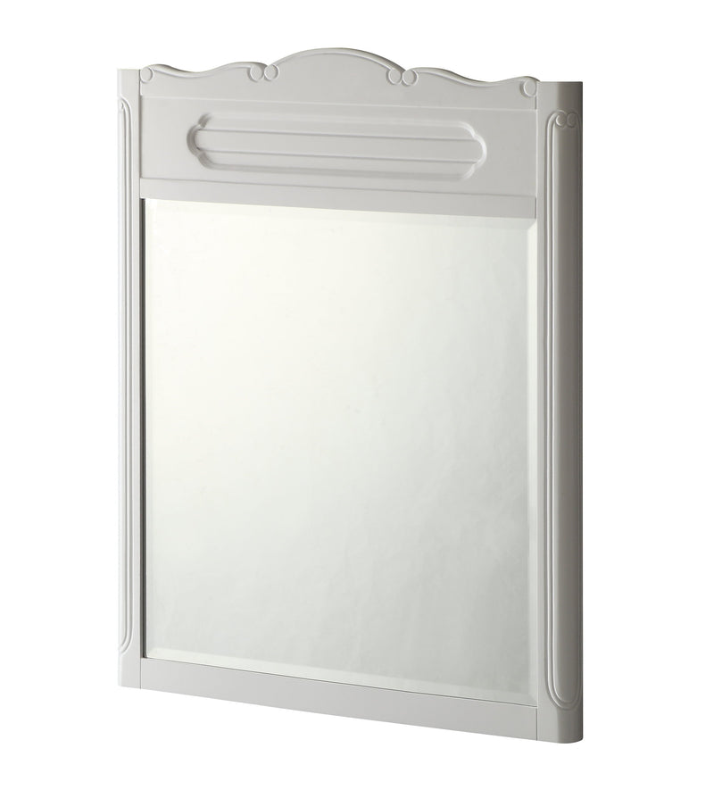 "34"" Knoxville White Bathroom Vanity Mirror MR-1522W"