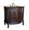 "37"" Classic Style Huntington Bathroom Sink Vanity HF029GT - Chans Furniture"