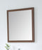 Colle American Walnut 28-inch Wall Mirror MIR-409NT-30