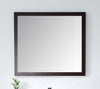 Adagio Espresso/Wenge 34-inch Wall Mirror MIR-409WE36