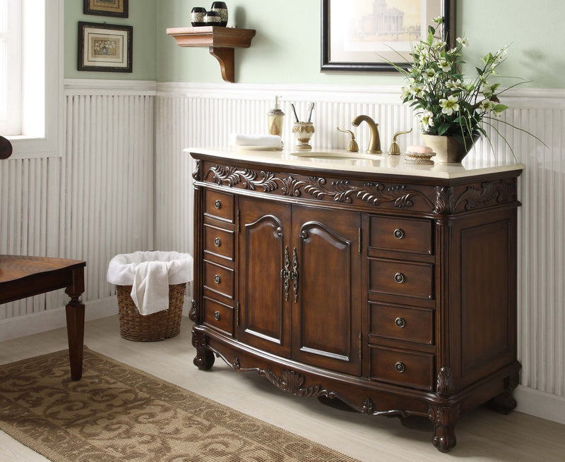 Florence 48-inch Vanity Q036M - Chans Furniture - 2