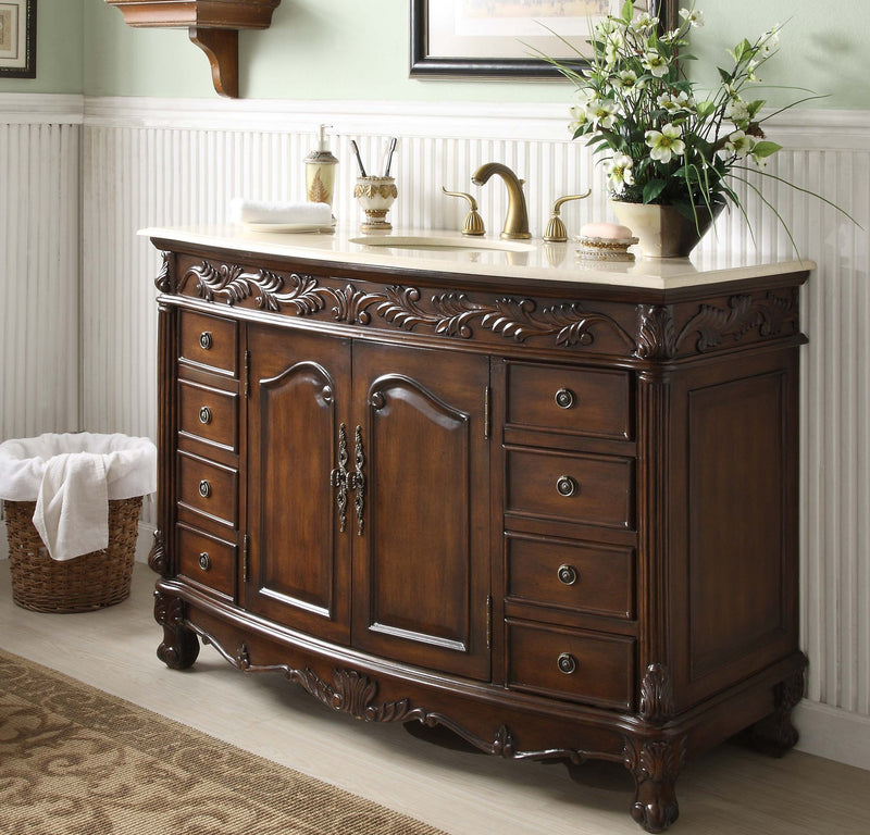 Florence 48-inch Vanity Q036M - Chans Furniture - 1