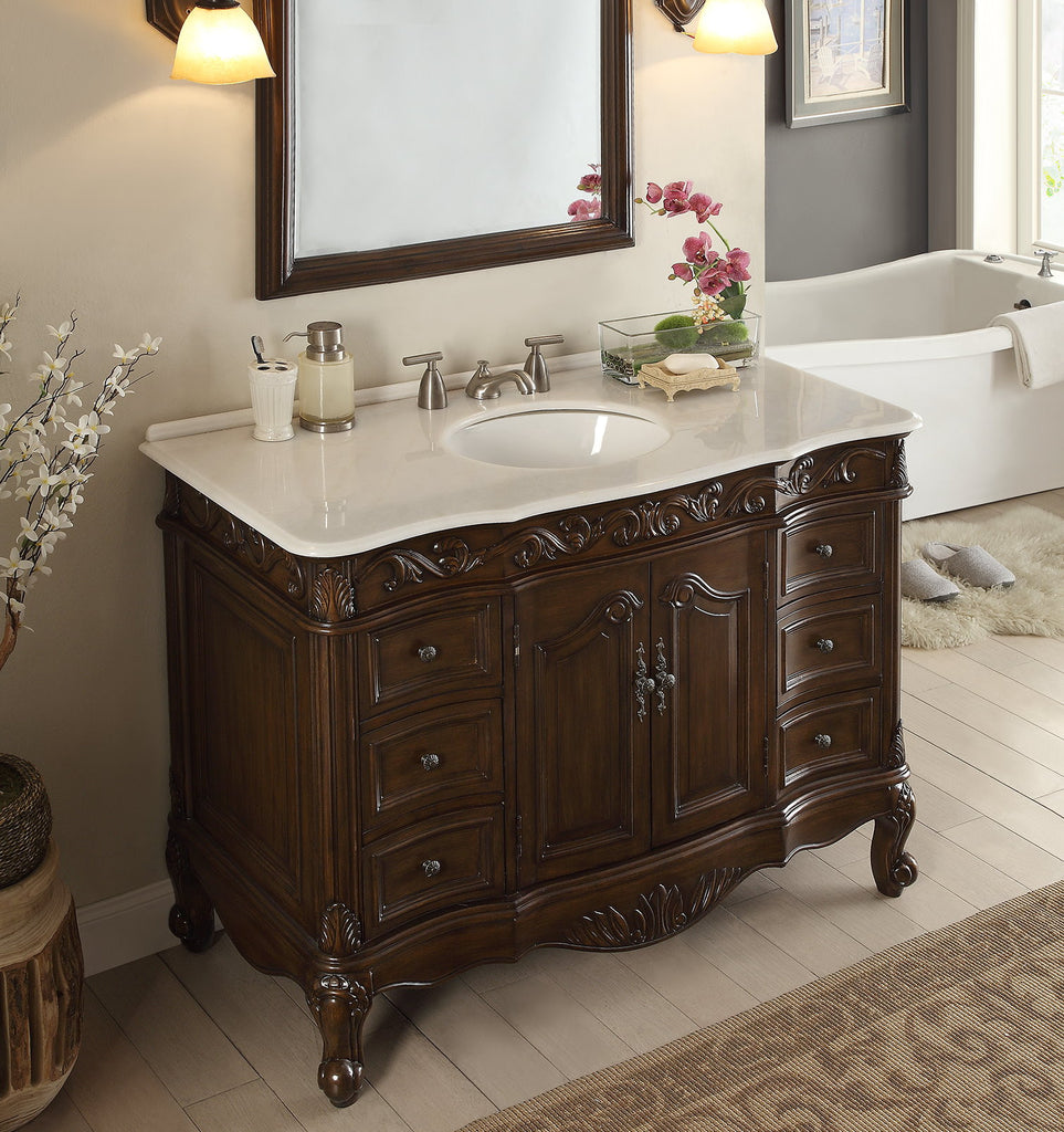 48 Quot Benton Collection Classic Style Beckham Bathroom Sink