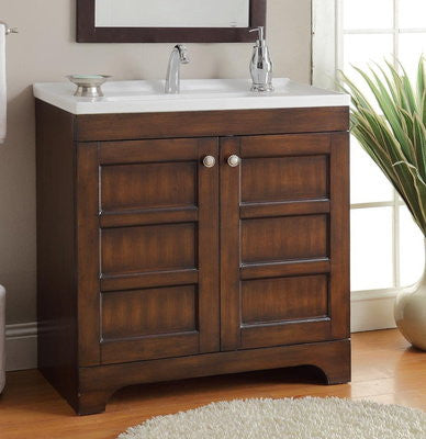 "32"" Lexi Bathroom Sink Vanity - CF-10720 - Chans Furniture - 1"