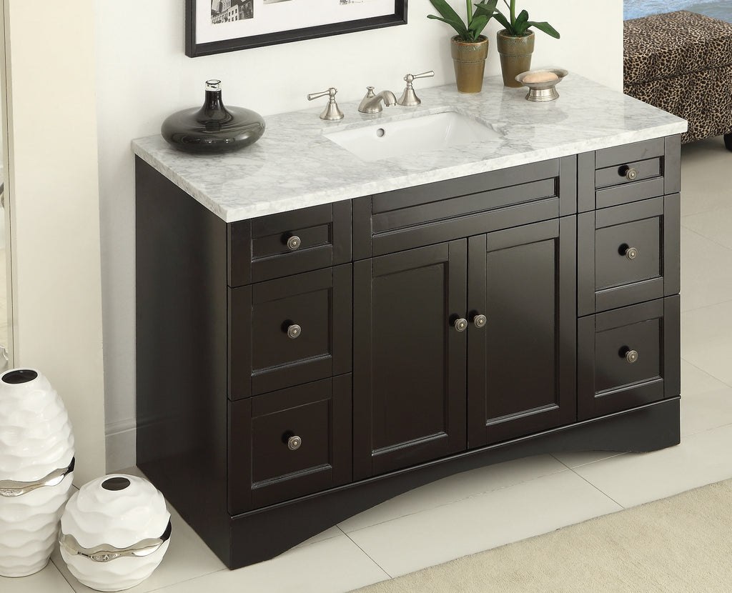 "47"" Modern Style Alvin Bathroom Sink Vanity model # 91712C ..."